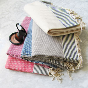 Luxury Honeycomb Hammam Guest Towel - towels & bath mats