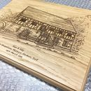 Bespoke Wedding Venue Drawing Plaques
