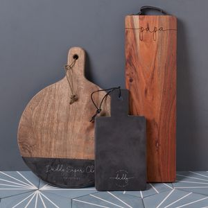 Christensen Personalised Slate Chopping Board - gifts for him sale
