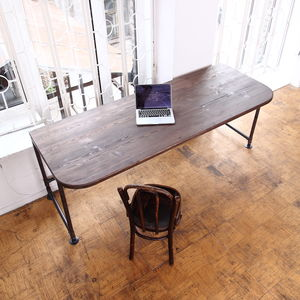 Industrial Style Office Desk - furniture