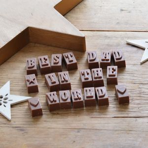 Chocolate Treat Especially For Dad - gifts for fathers