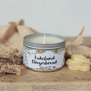 Daisy And Dot Lakeland Gingerbread Candle
