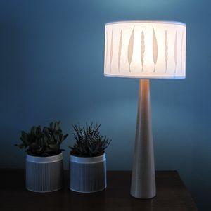 Autumn Leaf Drum Lamp - lighting