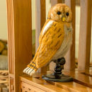 Felt Bird Taxidermy Tawny Owl