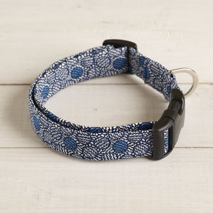 Clarence Liberty Fabric Dog Collar