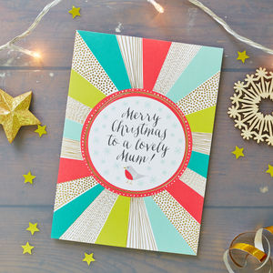Christmas Card For Your Mum - christmas cards