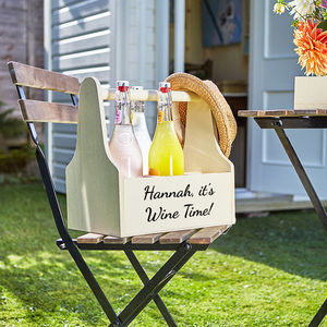 Personalised Beer Or Wine Caddy - kitchen