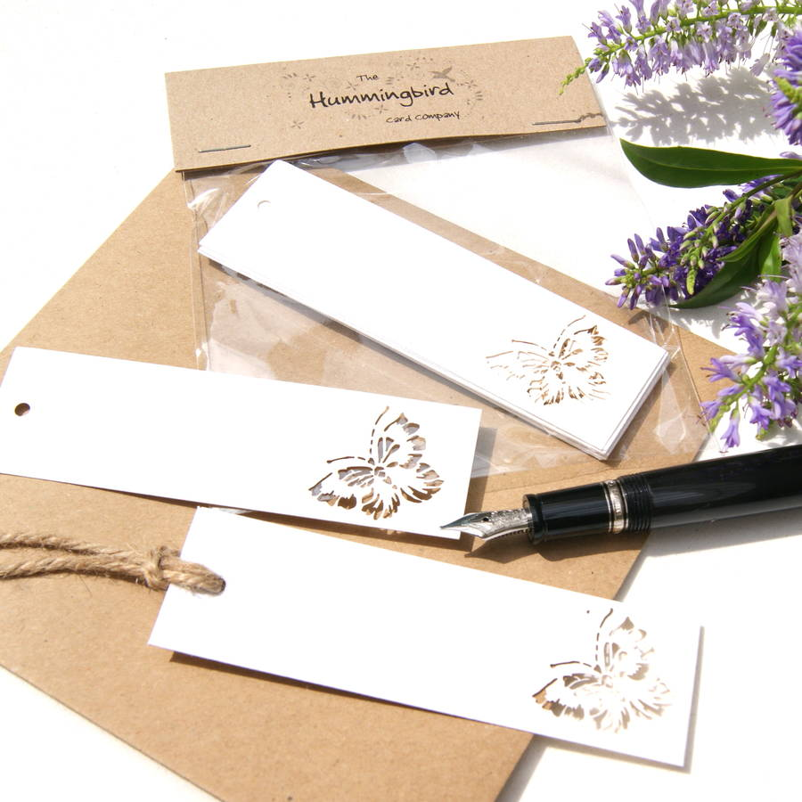 wedding gift tags lasercut butterfly by the hummingbird card company ...