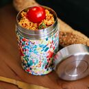 Arty Insulated Food Jar