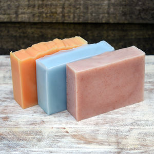 A Soapy Trio ~ Three Handmade Soaps Of Your Choice