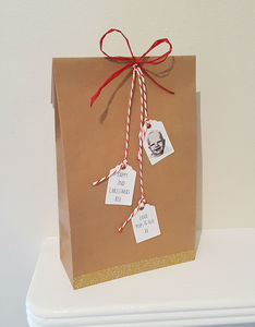 Personalised Christmas Gift Bag - gift boxes
