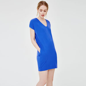 Effortless Nightdress With Real Silk Trim