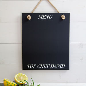 Personalised Blackboard - home sale