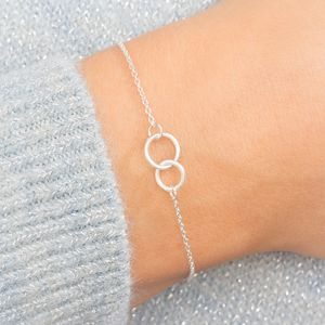 Leni Personalised Eternity Circle Of Life Bracelet - bracelets & bangles