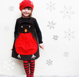 Winter Robin Christmas Play Dress - top children's gifts