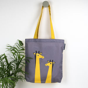 Giraffe Animal Tote Bag - shopper bags
