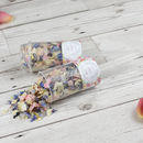 Cottage Garden Personalised Wedding Confetti Pops