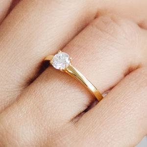 Solar Ethical Fairtrade Diamond Engagement Ring - unique engagement rings