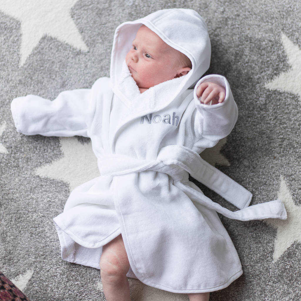 2842b84b8c new born baby dressing gown and slipper set by duncan stewart ...