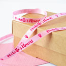Business Branded 10mm Personalised Printed Ribbon