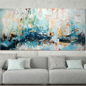 Epiphany Two Original Abstract Painting On Canvas - canvas prints & art