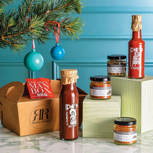 The Spicy Bbq Man Box - gift sets
