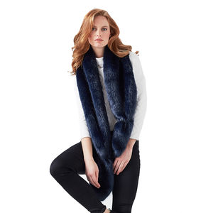 Luxury Faux Fur Vixen Scarf - 'mother of the bride' fashion and accessories