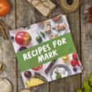 Personalised Christmas Cookbook
