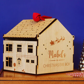 unique heirloom sustainable Christmas Eve box personalised