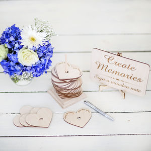 Create Memories Wedding Guest Book - albums & guest books