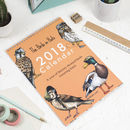 The Birds In Hats 2018 Wall Calendar And Planner