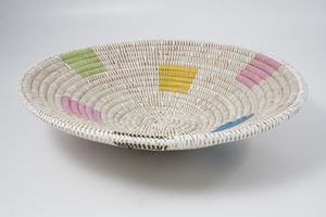 Alibaba Fruit Bowl In Coloured Squares Large Ad6