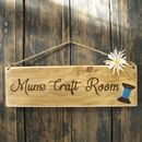 Personalised Room Sign