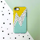 Geometric Thunder Phone Case