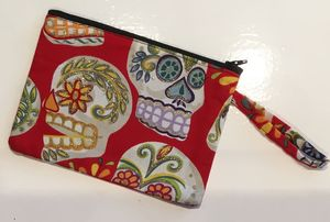 Mexican, Skull And Miscellaneous Coin Purses
