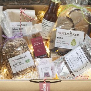 Hot Smoke Hamper - gifts for grandparents