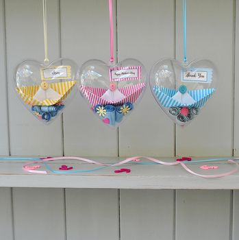 Personalised Secret Messages Heart