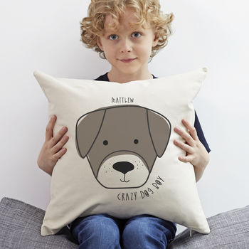 Personalised 'Dog' Cushion