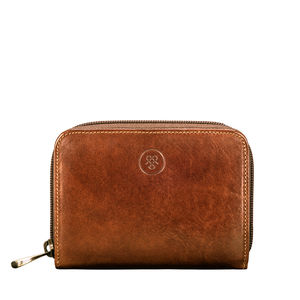 Stunning Leather Zip Around Purse. 'The Forino' - purses & wallets