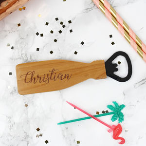 Personalised Bottle Openers - kitchen accessories
