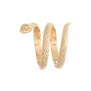 Twice Wrap Around Snake Ring