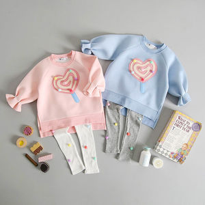 Pom Pom Lollipop Jumper And Pom Pom Leggings Set