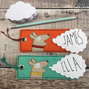 Personalised Children's Dog Bookmark - bookmarks