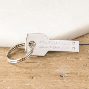 Personalised 16 Gb Key Usb Drive - keyrings
