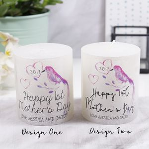 Tropical 'Happy 1st Mother's Day' Metallic Candle - candles & home fragrance