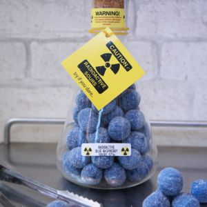 Radioactive Blue Raspberry Sours - gifts for teenagers