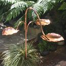 Copper Heart Birdbath Tree