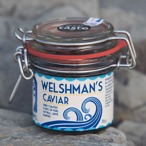 Welshman's Caviar Seaweed Flakes - spices & seasonings