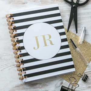 Personalised Monogrammed Notebook