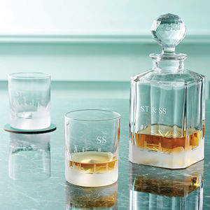 London Skyline Decanter And Tumblers - valentines lust list